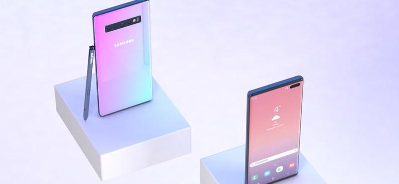 Brutális gyorstöltővel érkezhet a Samsung Galaxy Note10