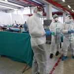 Olaszországban alig csillapodik a járvány, még mindig nagyon sok az új fertőzött