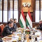 A Roszatom vezérigazgatójával tárgyalt Orbán Viktor