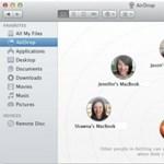 Az AirDrop használata régebbi Macintosh gépeken