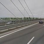 Négy autó ütközött az M0-son Fótnál