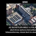 A nap képe: a Műegyetem épületén röhögnek az internetezők