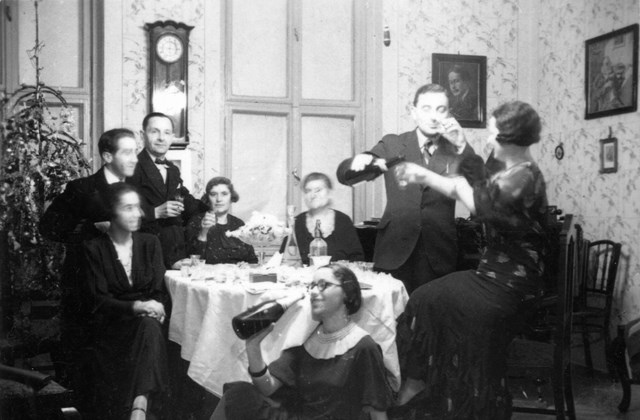 fortepan_! Szilveszter - 1938.