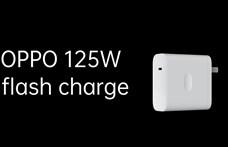 21 perc alatt tölti fel a mobilt az Oppo 125W-os gyorstöltője
