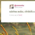 Sziréna Williams és galaktikus harc: így reagáltak a Twitterezők a gyakorlatra