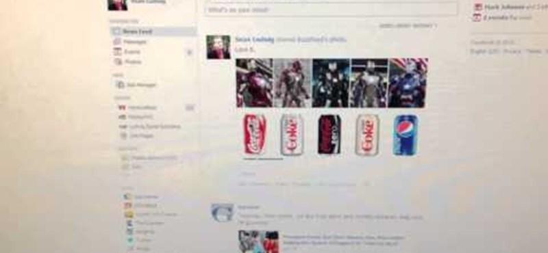 Idegesítő lehet: újítást tervez a Facebook