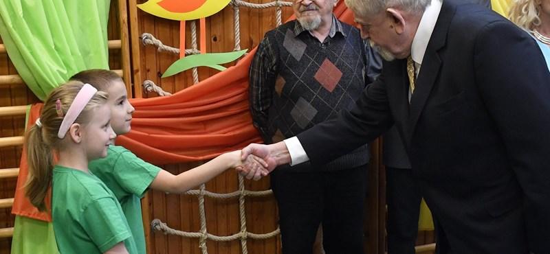 Kásler ellátogatott egy budapesti óvodába, sajtótájékoztatót is tartott – fotók