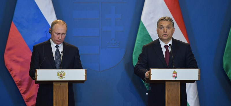 Putyin és Orbán sajtótájékoztatója - élő videó