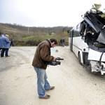 Komoly buszbaleset történt Komárom-Esztergomban