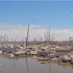 30 év után előbukkant az elárasztott város, visszatértek az egykori lakók – videó