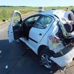 Bedrogozva vezetett, utasa halt meg - fotók
