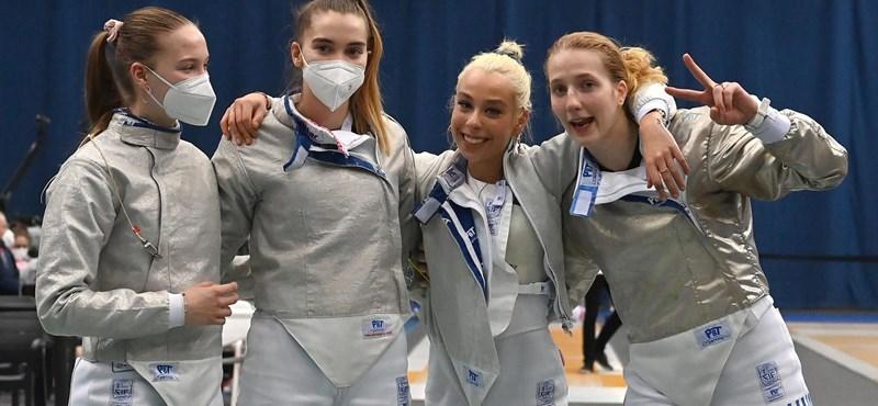 Kijutott az olimpiára a magyar női kardválogatott