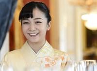 Fotók: három napig turistáskodott Magyarországon Kako japán hercegnő
