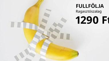 Az IKEA zseniális marketinggel reagált a 120 ezer dolláros banánra