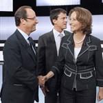 A bukott jelölt is kiáll Sarkozy leendő kihívója mellett