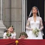Botrány a brit királyi család körül: leperelnék a ruhát Katalin hercegnőről