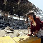 Sok gyerek halt meg Jemenben egy félrement bomba miatt