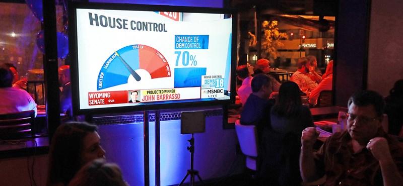 USA: Visszaszerezték a demokraták a képviselőházat, a republikánusok megtartották a szenátust