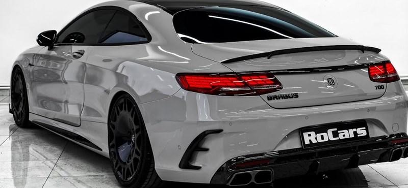 Az egyik legjobb alap a luxustuninghoz a Mercedes S 63 AMG Coupe
