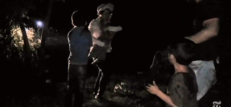 Gyerekeket fújtak le a szerb-magyar határnál - durva videó került ki a New York Times-ra