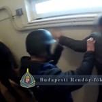 Elkapták a Bocskai úti ékszerrablót és társát – videó