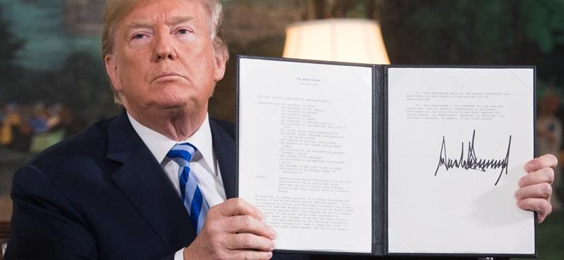 Trump felrúgta az alkut, Irán újra felpörgeti az urándúsítást
