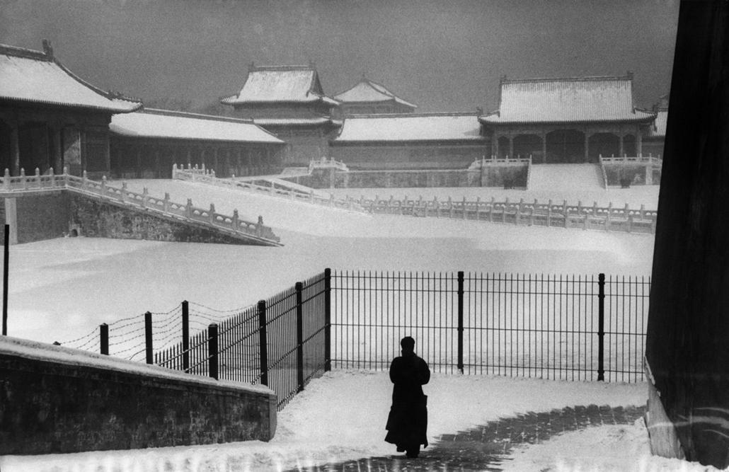 A Tiltott Város - Peking, Kína, 1957 - zselatinos ezüst - Mai Manó Ház, kiállítás, Marc Riboud