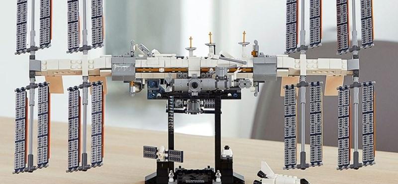 Stílusosan mutatta be új készletét a Lego: felküldték az űrbe