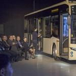 Magyar fejlesztés, de Mercedes csillagot visel az orrán a legújabb hazai busz