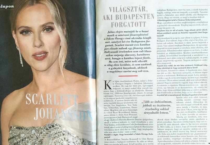 La entrevista de Scarlett Johansson no es el primer artículo sospechoso en la carrera de Anikó Návai