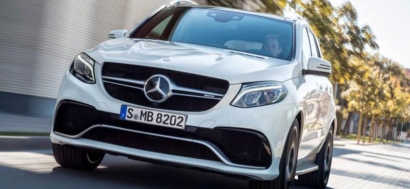 Itt az új Mercedes ML, ami mostantól GLE