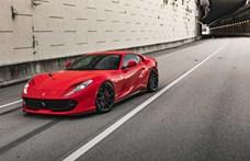 A kevesebb több: szolid tuningot kapott a Ferrari 812 Superfast
