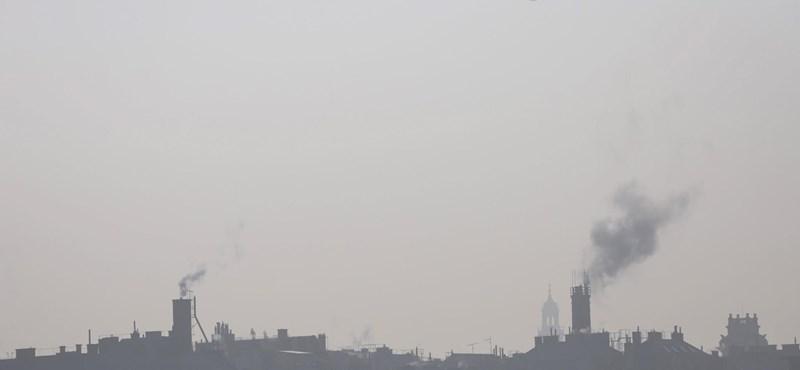 Már tizenöt településen veszélyes a levegő minősége Magyarországon