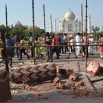 Nemzetközi segítséget kérnek a Tadzs Mahal megmentéséhez