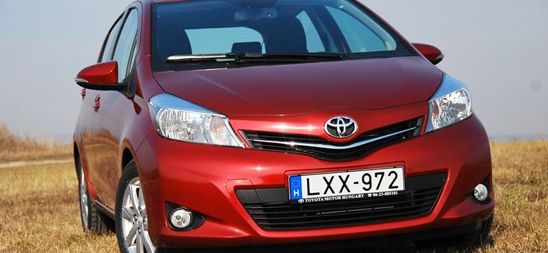 Teszteltük az új Toyota Yarist