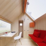 Fotók: 7 és fél négyzetméteres házat tervezett a sztárépítész
