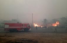 Lángolnak a kelet-ukrajnai erdők, már 9-en haltak meg a tűz miatt