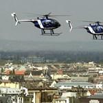 Légi zsaruk - helikopterrel a fejünk felett - Nagyítás-fotógaléria