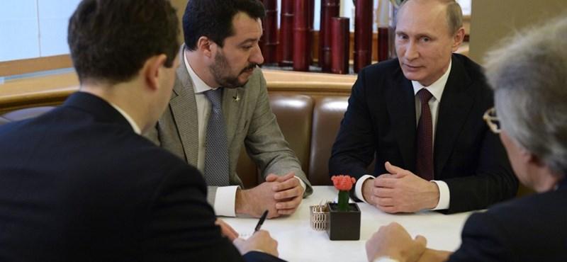 Hangfelvétel készült arról, ahogy Salvini embere orosz támogatásról tárgyal az EP-kampányhoz