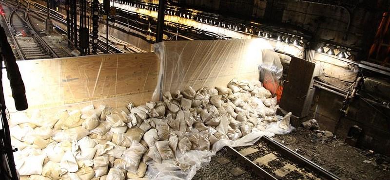 Partot ért Sandy az USA-ban