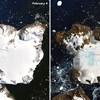 Rekordmeleg volt az Antarktiszon, már látszik is az eredménye