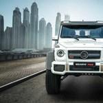 Viszlát, kocka terepjáró: 700 lóerővel búcsúzik az előző Mercedes G-osztály