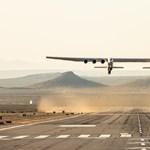 Újabb tesztrepülést hajtott végre a világ legnagyobb repülőgépe