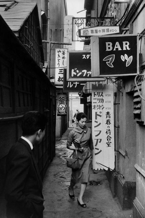 Tokió, Japán, 1958 - zselatinos ezüst - Mai Manó Ház, kiállítás, Marc Riboud