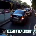 Megint baleset érte a biciklist, akit négy éve elsodort egy BKV-busz