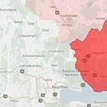Frontális karambol volt Veszprém megyében, tűzoltók mentik a roncsokba szorultakat