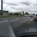 Három autó ütközött az M7-esen Törökbálintnál