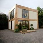 Szalmával bélelt panelekből készült ház - A jövő természetbarát technológiája?