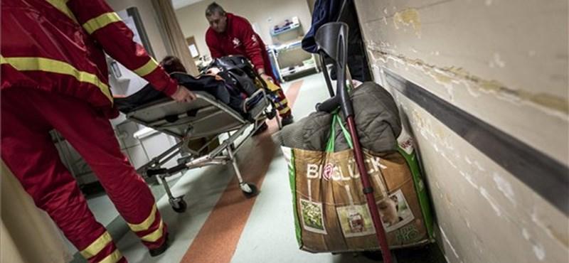 Áteresztik az ólommellények a sugárzást a Péterfy-kórházban