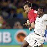 Ghána egy tizenegyesgóllal győzte le Szerbiát